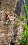 Rock Climbing Photo: beautiful wall, brilliant climb.