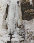 Rock Climbing Photo: one of the falls at plotterskill.