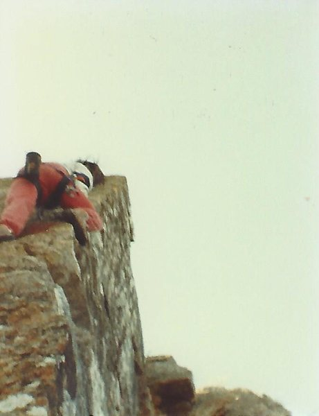 Barritt freesolo on Dr. Crankenstein