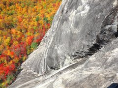 Rock Climbing Photo: fall color