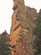 Rock Climbing Photo: North Face of spire
