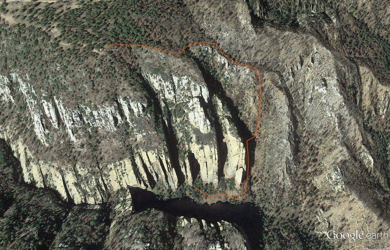 Approach map