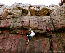 Rock Climbing Photo: Blue Mounds State Park