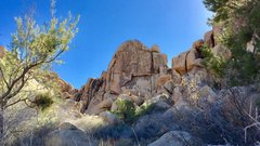 Rock Climbing Photo: East Face of Left Hand of Darkness