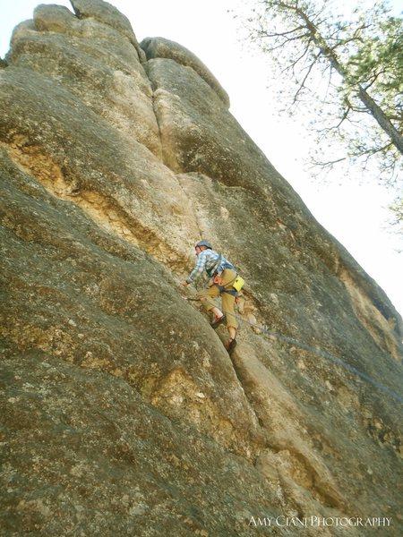 Wrinkled rock