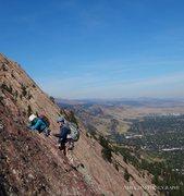 Rock Climbing Photo: Flatirons - Boulder, CO