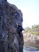 Rock Climbing Photo: Taylor Falls State Park