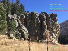 Rock Climbing Photo: Roadside Attraction Rock