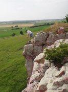 Rock Climbing Photo: Blue Mounds State Park