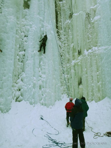 Rock Climbing Photo: Sandstone Ice Park