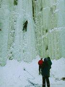 Rock Climbing Photo: Sandstone Ice Park