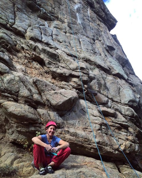 Rock Climbing Photo: free willy. First 11a lead.