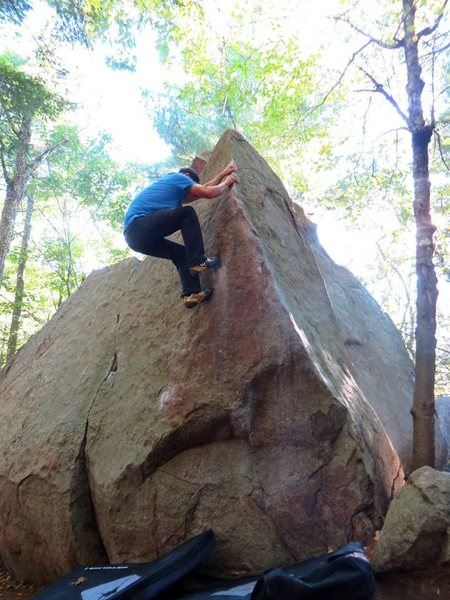 Rock Climbing Photo: Cause for Commotion