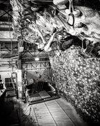 chelsea piers, training indoors <br />photography by daniel mizhiritsky