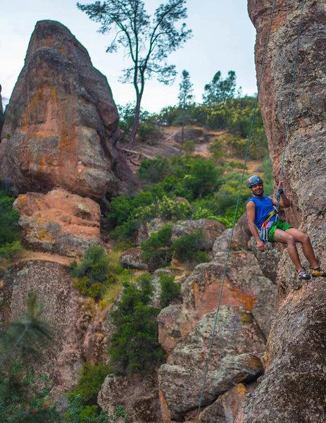 Rock Climbing Photo: Climbing at Pinnacle
