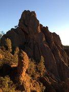 Rock Climbing Photo: High Peaks trail