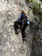Rock Climbing Photo: Just off the deck on Motika