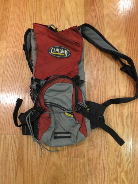 Camelbak thingy, no bladder.  Small but useful.  $25