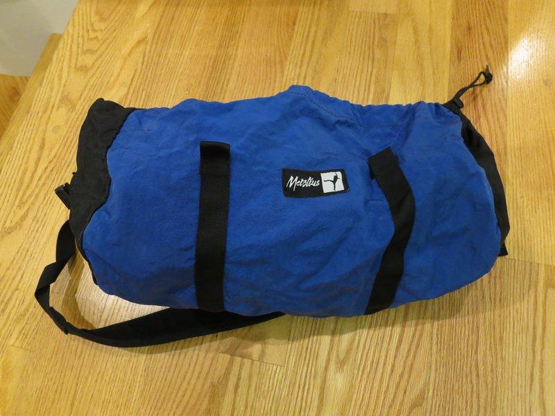 Rock Climbing Photo: Metolius rope bag, decent condition: $25