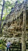 Rock Climbing Photo: Jackson falls