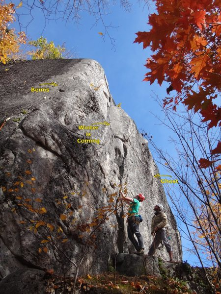 "Chuck Drew and James Puckett starting on ""Winter is Coming,"" 5.8+."