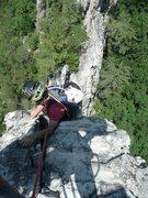 Rock Climbing Photo: Gunsight to South Peak