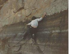 Rock Climbing Photo: Jung on Sub-man
