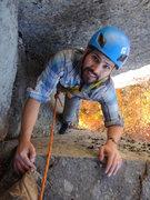 "Rock Climbing Photo: Jeremy Robichaud topping out ""Stem It,"" ..."