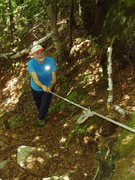 """Rock Climbing Photo: """"...approach Trail climbs steeply""""!  On ..."""