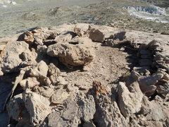 Rock Climbing Photo: Ceremonial Ring!?