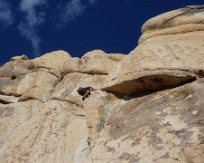 Rock Climbing Photo: Great movement and amazing route