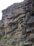 Rock Climbing Photo: Center of the crag.