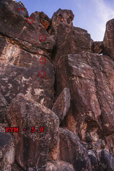 Rock Climbing Photo: FYM