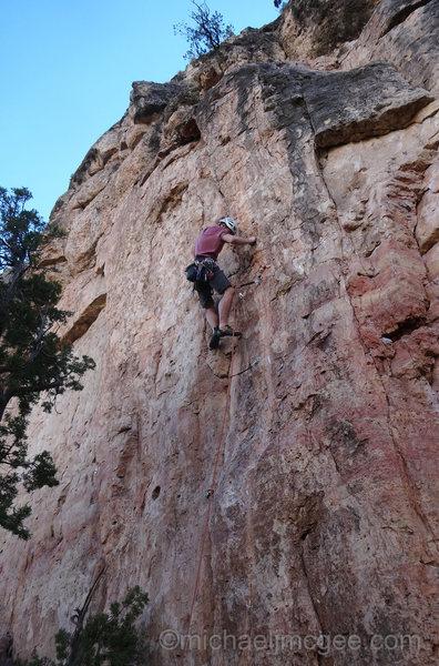 Rock Climbing Photo: Nate at C3.