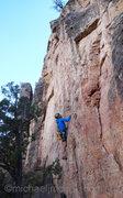 Rock Climbing Photo: Chris at C2.