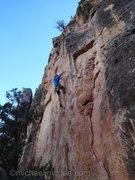 Rock Climbing Photo: Chris at C4.