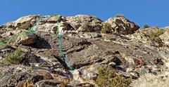 Rock Climbing Photo: Gastlosen sector of Silver Fork crag B. Low Slab L...