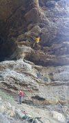 Rock Climbing Photo: Mighty steep!