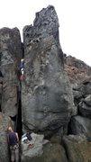 Rock Climbing Photo: Paolo on the move 2