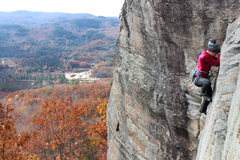 Rock Climbing Photo: and what a view