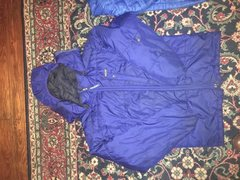 Rock Climbing Photo: Patagonia belay coat