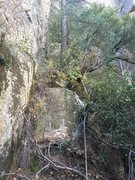 Rock Climbing Photo: P1 Ramp