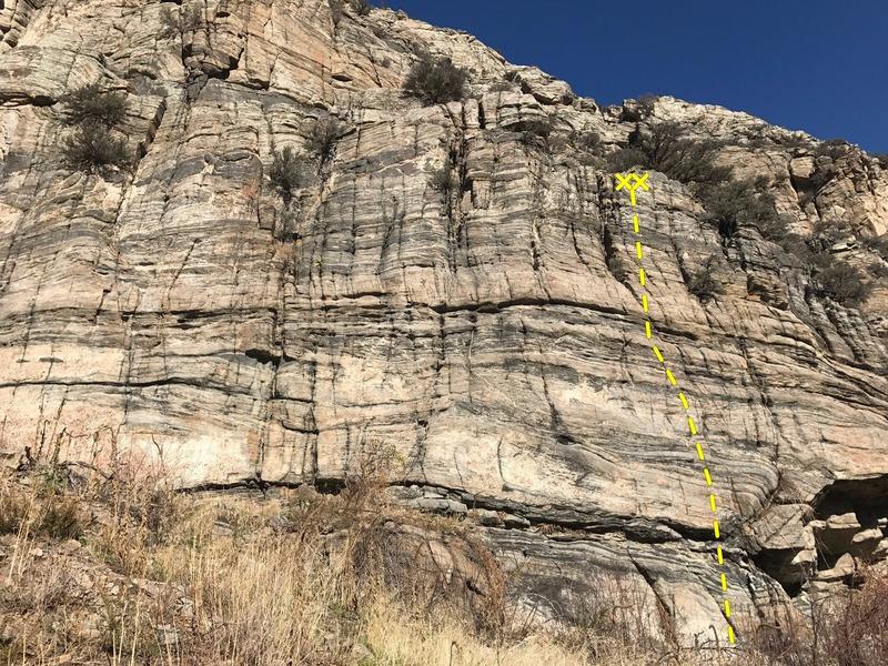 Rock Climbing Photo: Marvelous route.