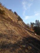 Rock Climbing Photo: Approach to main face