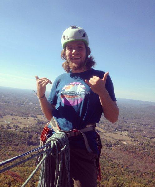 Atop Mt Yonah