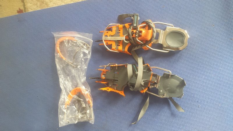 Rock Climbing Photo: Blade runners pre recall. Used 6x. Offers?