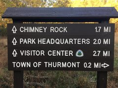Rock Climbing Photo: Trailhead sign for the Gateway Trail at Catoctin M...