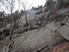 Rock Climbing Photo: Right side of Upper Patina