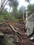 "Rock Climbing Photo: Part of the ""path"" from Lower to Upper P..."