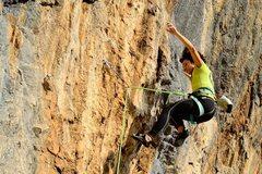 Rock Climbing Photo: Crux: falling
